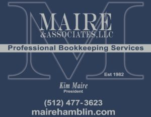 CADF Maire Bookkeeping